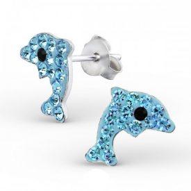 Kristallen blauwe dolfijnen