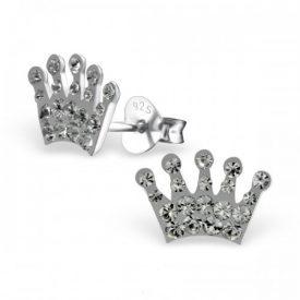 Kroon kristal grijs