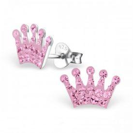 Kroon kristal roze