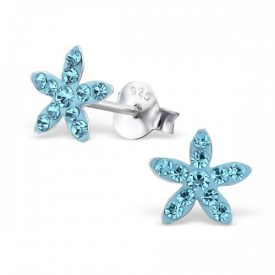 Zeester kristal blauw