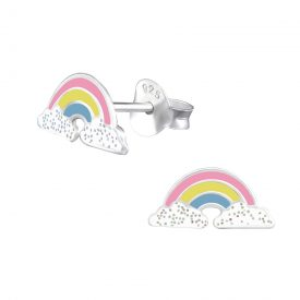 Regenboog met glitter