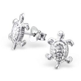 Schildpadjes egaal zilver