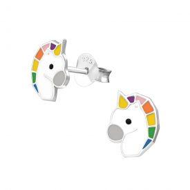 Eenhoorn kopjes rainbow kinderoorbellen