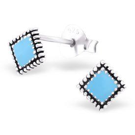 Little square dames oorbellen