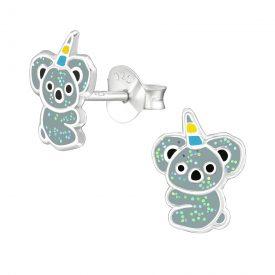 Koala's met hoorn oorbellen (Koalacorns)