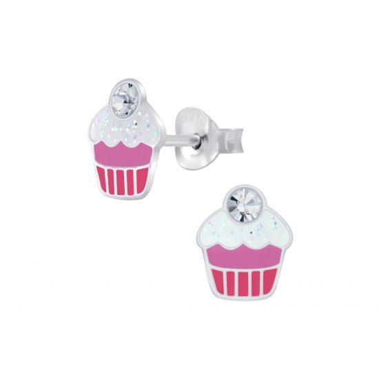 cupcake oorbellen