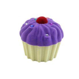 Cupcake paars